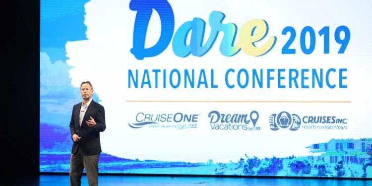 Challenge Accepted. Attendees at 2019 Dream Vacations, CruiseOne® and Cruises Inc.® National Conference Dared to Embrace Change