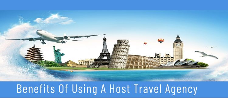 Infographic on how and why to partner with a Host Travel Agency