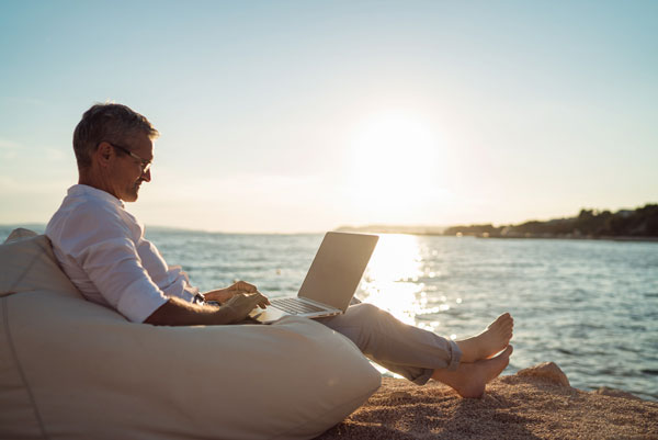 Workcations can be a way to Travel and enjoy while running your Travel Business aborad